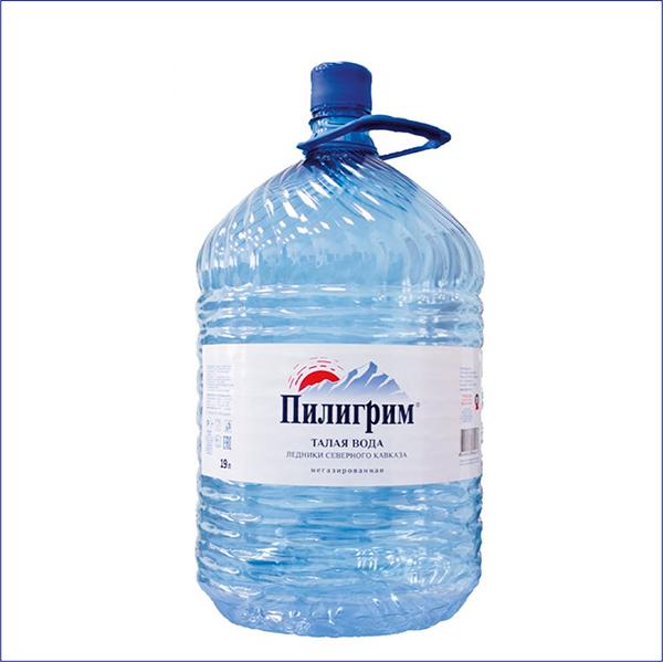 """Вода """"Пилигрим"""" 19 л. ПЭТ"""