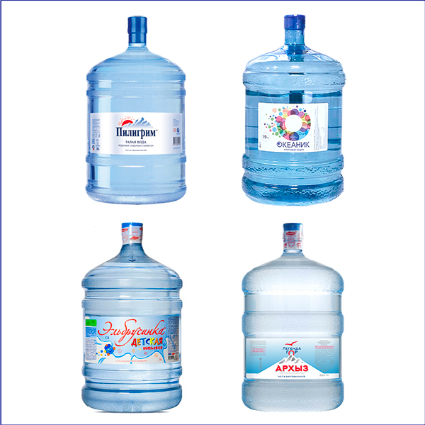 """Комплект """"4 воды"""" (в одноразовой таре)"""