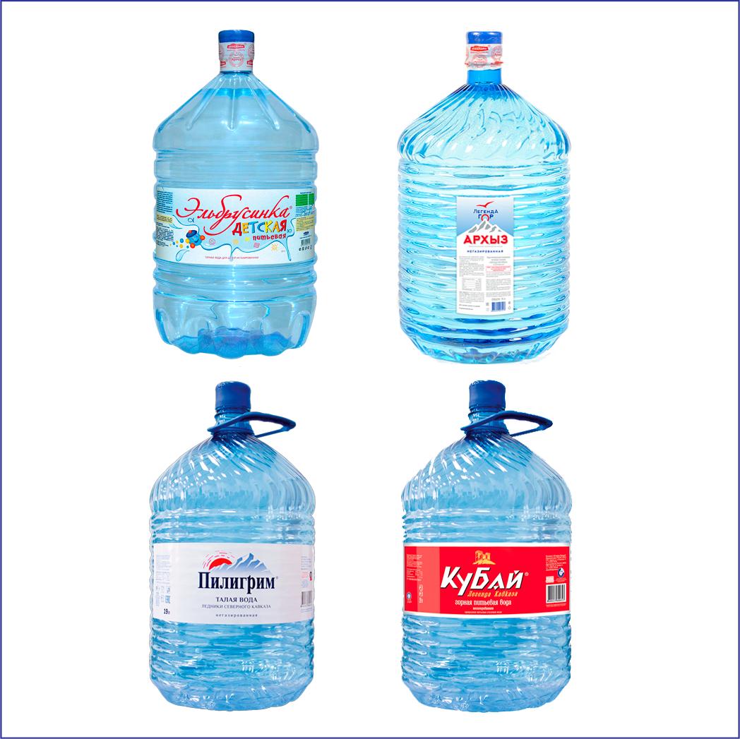 Комплект 4 воды