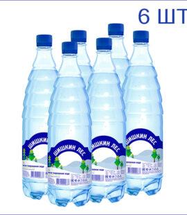 Вода Шишкин лес 1л. Газ