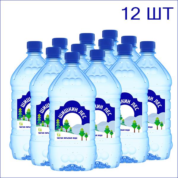 вода шишкин лес 1 л.