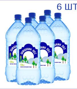 "Вода питьевая ""Шишкин лес"" 1,75л./6/ПЭТ/негаз"