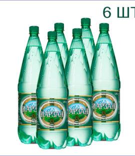 """Минеральная вода """"Нарзан"""" натуральной газации 1,8л./6/ПЭТ"""