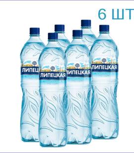 """Вода минеральная """"Липецкая""""1,5л./6/ПЭТ/газ"""