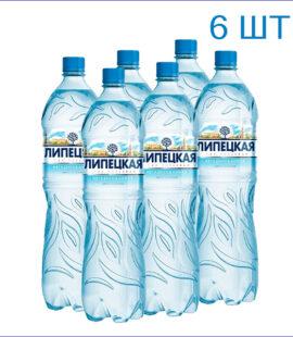 """Вода минеральная """"Липецкая"""" 1,5л./6/ПЭТ/негаз"""