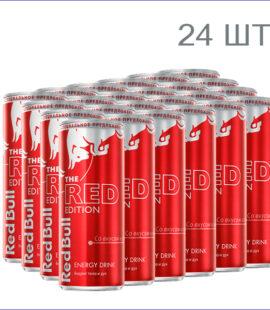 """Энергетический напиток """"Red Bull Red Edition"""" 0,25л./24/ж/б/газ"""