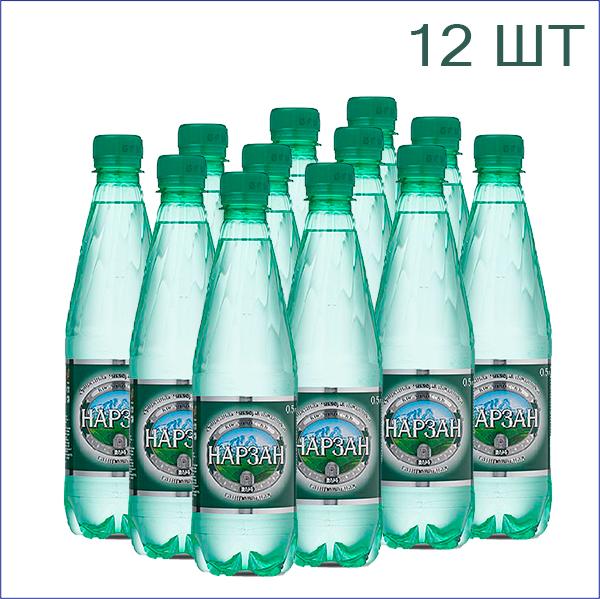 """Минеральная вода """"Нарзан"""" 0,5л./12/ПЭТ/газ"""
