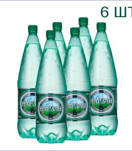 """Минеральная вода """"Нарзан"""" 1,8л./6/ПЭТ/газ"""