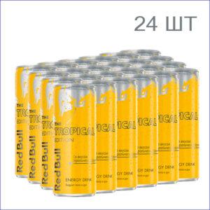 "Энергетический напиток ""Red Bull Tropical Edition"" 0,25л./24/ж/б/газ"