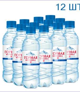 """Вода питьевая """"Горная вершина"""" 0,33л./12/ПЭТ/негаз"""