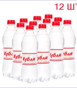 """Вода питьевая """"Кубай"""" 0,5л./12/ПЭТ/газ"""
