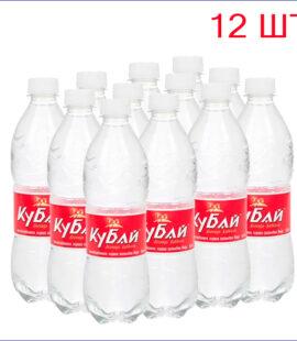 """Вода питьевая """"Кубай"""" 0,5л./12/ПЭТ/негаз"""
