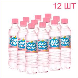 """Вода питьевая """"Для ляль"""" 0,5л./12/ПЭТ/негаз"""