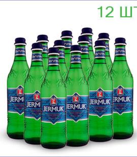 Вода минеральная «Джермук» 0,5л./12/СТ/газ