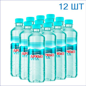 """Вода питьевая """"Архыз"""" 0,5л./12/ПЭТ/негаз"""