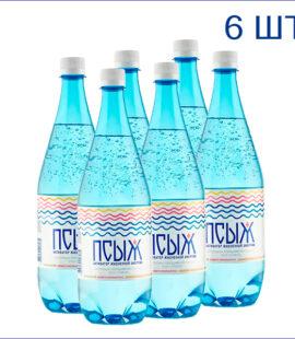 """Вода минеральная """"Псыж"""" 1л./6/ПЭТ/газ"""