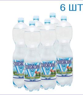 """Вода питьевая """"Сенежская"""" 1,5л./6/ПЭТ/газ"""