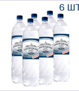 """Вода питьевая """"Липецкий бювет"""" 1,5л./6/ПЭТ/газ"""