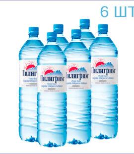 """Вода питьевая """"Пилигрим"""" 1,5л./6/ПЭТ/негаз"""