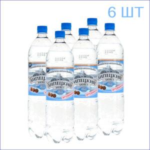 """Вода питьевая """"Липецкий бювет"""" 1,5л./6/ПЭТ/негаз"""