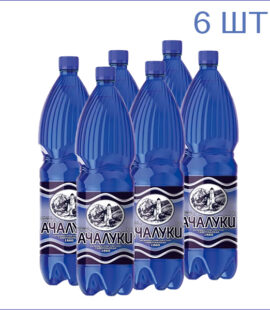 """Вода минеральная """"Ачалуки"""" 1,5л./6/ПЭТ/газ"""