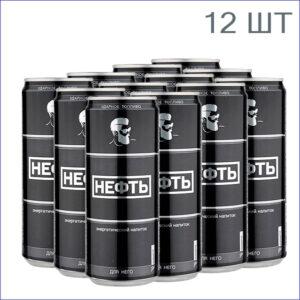 """Энергетический напиток """"Нефть"""" Для него 0,33л./12/ж/б/газ"""