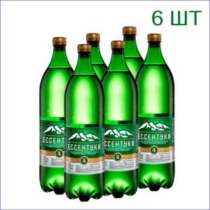 """Вода минеральная """"Ессентуки №17"""" 1,5л./6/ПЭТ/газ"""