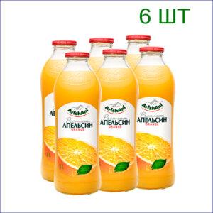 "Сок ""Аршани"" апельсин 1л./6/СТ - 6"