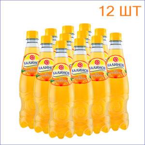 """Лимонад """"Калинов"""" апельсин 0,5л./12/ПЭТ - 12"""