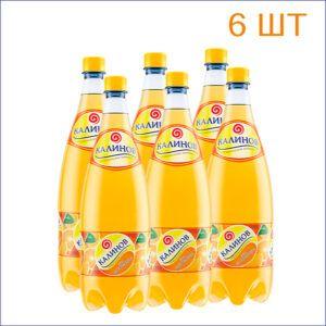 """Лимонад """"Калинов"""" апельсин 1,5л./6/ПЭТ - 6"""