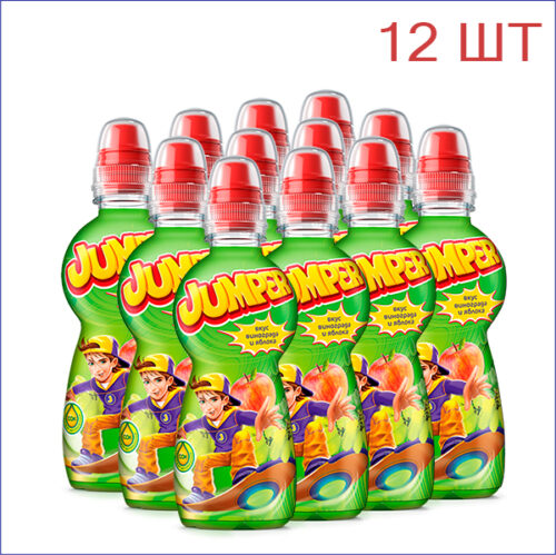 """Напиток """"Jumper"""" виноград-яблоко 0,33/12/ПЭТ/спорт - 12"""