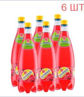 """Лимонад """"Калинов"""" вишня 1,5л./6/ПЭТ - 6"""