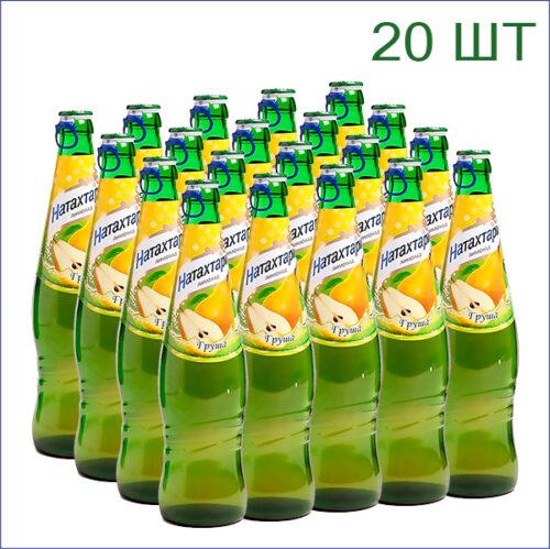 """Лимонад """"Натахтари"""" груша 0,5л./20/СТ - 20"""