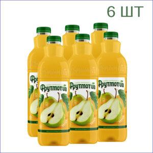 """Напиток """"Фрутмотив"""" груша 1,5л./6/ПЭТ - 6"""