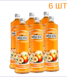 """Лимонад """"Фреш Бум"""" дюшес 0,5л./6/СТ - 6"""