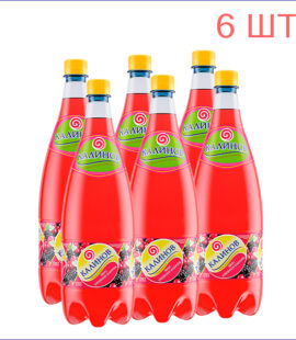 """Лимонад """"Калинов"""" ежевика-клюква 1,5л./6/ПЭТ - 6"""