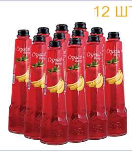"Напиток ""Crystal Berry"" клубника-банан 0,45л./12/СТ - 12"