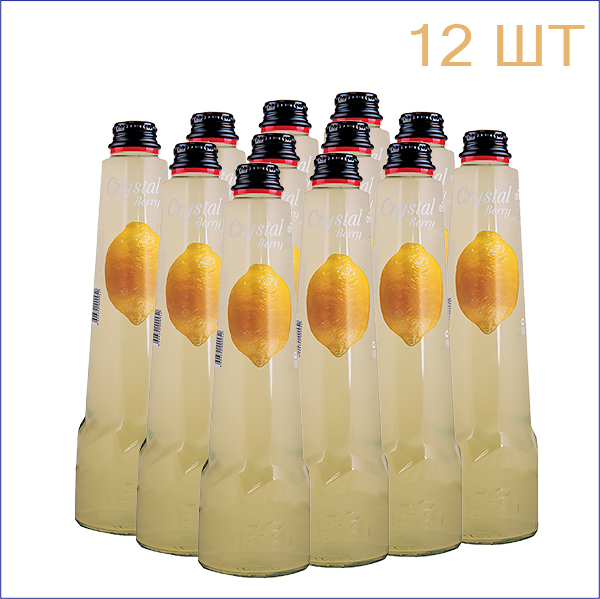 "Напиток ""Crystal Berry"" лимон 0,45л./12/СТ - 12"