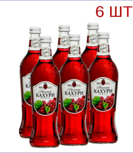 """Лимонад """"Вкус Года"""" кахури 0,6л./6/СТ - 6"""
