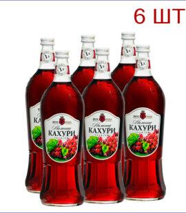 """Лимонад """"Вкус Года"""" кахури 1л./6/СТ - 6"""