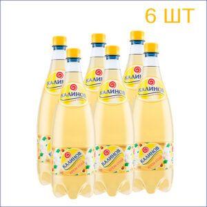 """Лимонад """"Калинов"""" крем-сода 1,5л./6/ПЭТ - 6"""
