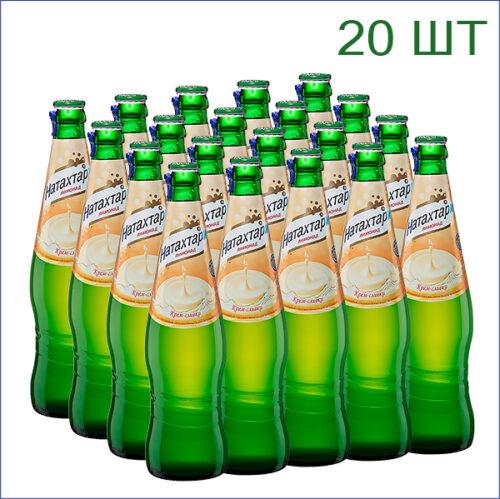 """Лимонад """"Натахтари"""" крем-сливки 0,5л./20/СТ - 20"""