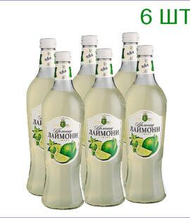 """Лимонад """"Вкус Года"""" лаймони 0,6л./6/СТ - 6"""