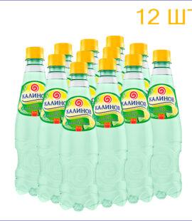 """Лимонад """"Калинов"""" лимон-лайм 0,5л./12/ПЭТ - 12"""