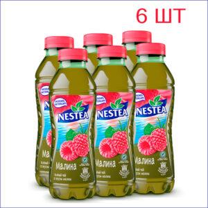 """Напиток """"Nestea"""" со вкусом малины 0,5л./6/ПЭТ - 6"""