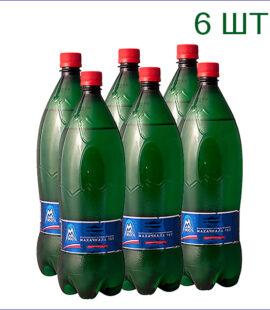 """Вода минеральная """"Махачкала 160"""" 1,5л./6/ПЭТ/газ"""