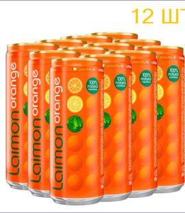 """Напиток """"Лаймон Фреш"""" orange 0,33л./12/ж/б - 12"""