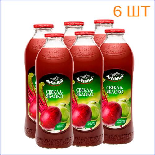 """Нектар """"Аршани"""" свекла-яблоко 1л./6/СТ - 1"""