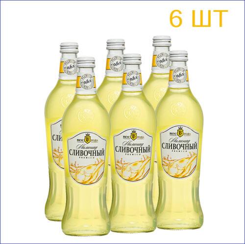 """Лимонад """"Вкус Года"""" сливочный 0,6л./6/СТ - 6"""