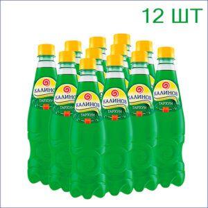 """Лимонад """"Калинов"""" тархун 0,5л./12/ПЭТ - 12"""